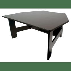 Victor® High Rise™ DC100 Adjustable Standing Desk Converter, Black