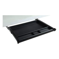 Lorell® Laminate Desk 4-compartment Drawer, Black