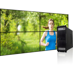 SmartAVI PresenterWall Digital Signage Appliance, Intel® Processor, 2GB Memory, 120GB Hard Drive, VW-04XAS
