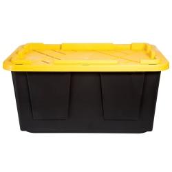 "Greenmade Storage Tote, 27 Gallons, 30 15/16""L x 20 5/16""W x 14 9/16""H, Black"