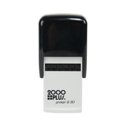"Custom 2000 PLUS®Self-Inking Monogram Stamp, 1-1/8"" x 1-1/8"" Impression"