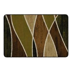 "Flagship Carpets Waterford Rectangular Area Rug, 48"" x 72"", Green"