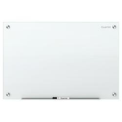 """Quartet® Infinity™ Unframed Glass Non-Magnetic Dry-Erase Whiteboard, 48"""" x 36"""", White"""