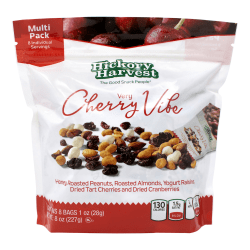 HICKORY HARVEST Very Cherry Vibe Nut Mix Multi Pack, 1 oz, 8 Count, 3 Pack