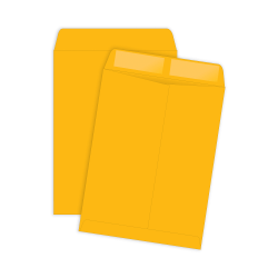 """Quality Park® Catalog Envelopes With Gummed Closure, 6"""" x 9"""", Brown, Box Of 500"""