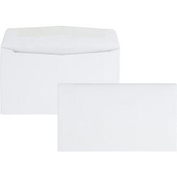 "Quality Park® Business Envelopes, #6 3/4, 3 5/8"" x 6 1/2"", White, Box Of 500"