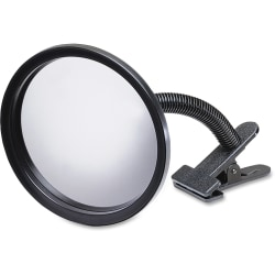 """See-All® Portable Clip-On Mirror, 7"""""""
