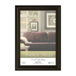 """Timeless Frames® Boca Wall Frame, 11"""" x 17"""", Glossy Black"""
