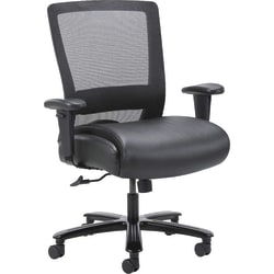Lorell® Heavy-Duty High-Back Mesh Task Chair, Black