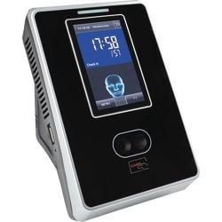 "timeQplus FaceVerify Ethernet Time Clock, 250 Employees, 10.25"" x 9.25"" x 3.75"", Black/Silver"