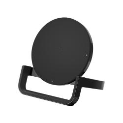 Belkin® 10-Watt Wireless Charging Stand, Black, F7U052DQBLK