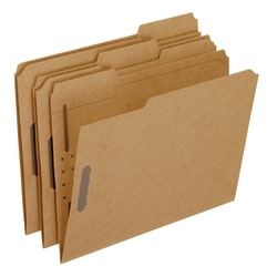 Pendaflex® Kraft Rec Classification Folders With Fasteners, Letter Size, Box Of 50