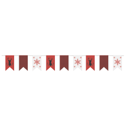 Amscan Christmas Banners, 9', Multicolor, Set Of 2 Banners