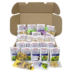 Snack Box Pros Salad Dressing Box, 1.5 Oz, Pack Of 46 Condiments