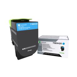 Lexmark™ 71B0H20 High-Yield Cyan Toner Cartridge