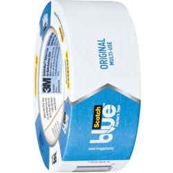 "Scotch® 2090 Long Mask™ Weatherable Masking Tape, 3"" Core, 2"" x 60 Yd., Blue, Case Of 12"