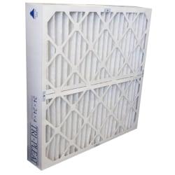 "Tri-Dim Pro HVAC Pleated Air Filters, Merv 13, 24"" x 24"" x 4"", Case Of 3"