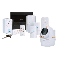 ALC Connect Plus Home Security System With 1 Pan/Tilt Camera, AHS627-23