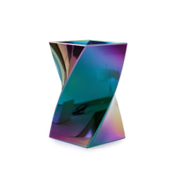 Stylish Aurora Wave Pencil Pen Holder Cup Office Desktop Storage Organizer - Mixed Colors