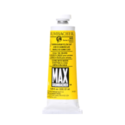 Grumbacher Max Water Miscible Oil Colors, 1.25 Oz, Cadmium Barium Yellow Light