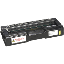 Ricoh - Yellow - original - toner cartridge - for Ricoh SP C250DN, SP C250SF, SP C261DNw, SP C261SFNw