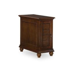"""Powell® Home Fashions Driscoll Shutter 23-1/2""""H Door Cabinet, Hazelnut"""