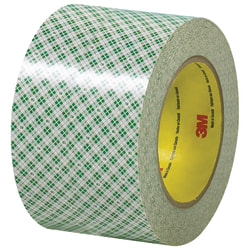 """3M™ 410 Double-Sided Masking Tape, 3"""" Core, 3"""" x 108', Off-White, Case Of 3"""
