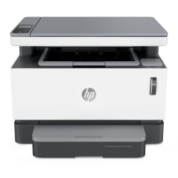 HP Neverstop MFP 1202w Wireless Laser All-In-One Monochrome Refillable Tank Printer