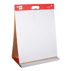 """Office Depot® Brand Tabletop Easel Pad, 20"""" x 23"""", 30% Recycled, White, 25 Sheets"""
