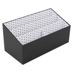 See Jane Work® Black Dot Desktop Organizer