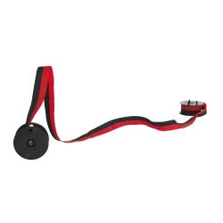 Porelon 80BRC Replacement Nylon Ribbon, Black/Red