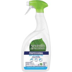 Seventh Generation Disinfecting Bathroom Cleaner Spray - Spray - 32 fl oz (1 quart) - Lemongrass Citrus Scent - 1 Each - Multi