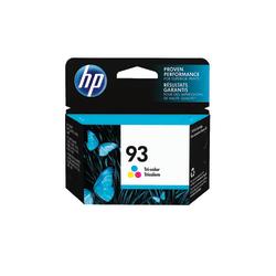 HP 93, Tricolor Original Ink Cartridge (C9361WN)