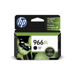 HP 966XL Extra High Yield Original Ink Cartridge, Black (3JA04AN)