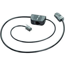 Plantronics Telephone Interface Cable (Connects Your Telephone and Your Base) - Phone Cable for Headset, Phone