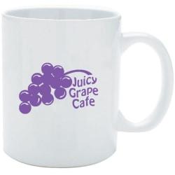 Ceramic White Mug 11oz.
