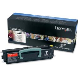 Lexmark X203A21G Black Toner Cartridge