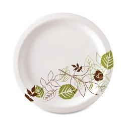 "Dixie® Ultra® Paper Plates, 8 1/2"" Diameter, Pathways® Design, Pack Of 125"