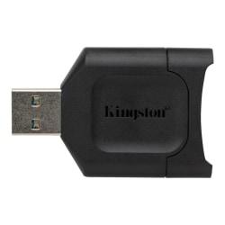 Kingston MobileLite Plus - Card reader (SD, SDHC, SDXC, SDHC UHS-I, SDXC UHS-I, SDHC UHS-II, SDHC UHS-II) - USB 3.2 Gen 1