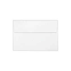 "LUX Invitation Envelopes With Peel & Press Closure, A8, 5 1/2"" x 8 1/8"", Bright White, Pack Of 50"