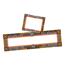 Barker Creek Name Tag And Name Plate Set, Africa