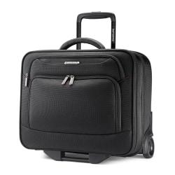 "Samsonite® Xenon 3 Wheeled Mobile Office, 16 1/2""H x 13 1/2""W x 8""D, Black"
