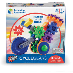 Learning Resources Gears! Cycle Gears Building Kit - Theme/Subject: Learning - 4 Year & Up - 30 Pieces