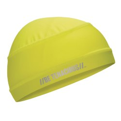 Ergodyne Chill-Its® 6632 Cooling Skull Caps, Lime, Pack Of 6 Caps
