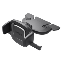 iOttie Easy One-Touch 4 CD-Slot Car Mount Holder Cradle, Black, HLCRIO127