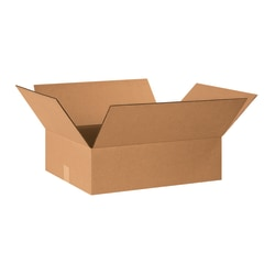 """Office Depot® Brand Corrugated Cartons, 20"""" x 16"""" x 6"""", Pack Of 25"""