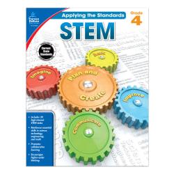 Carson-Dellosa™ Applying The Standards STEM Workbooks, Grade 4