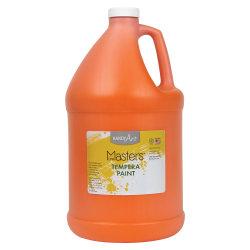 Handy Art Little Masters Tempera Paint Gallon - 1 gal - 1 Each - Orange