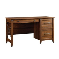 Sauder® Carson Forge Desk, Washington Cherry