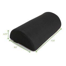 """Mind Reader Foam Foot Rest, 4-3/4""""H x 17-1/2""""W x 9-1/2""""D, Black"""